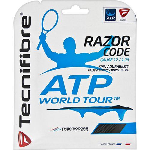 Tecnifibre Razor Code 17 1.25: Tecnifibre Tennis String Packages