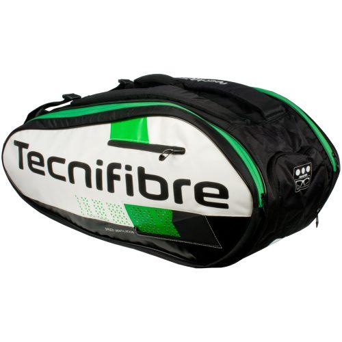 Tecnifibre Squash Green 12 Racquet Bag: Tecnifibre Squash Bags