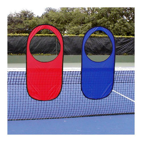 Tennis Pop-Up Targets (2): Oncourt Offcourt Tennis Training Aids