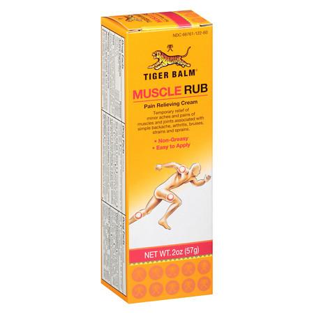 Tiger Balm Muscle Rub Topical Analgesic Cream - 2 oz.