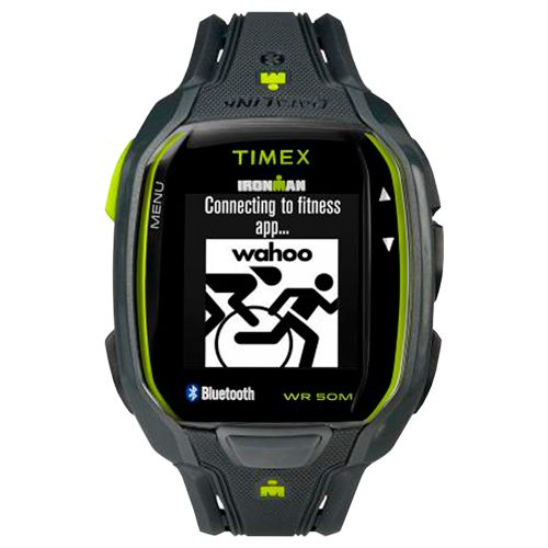 Timex IRONMAN Run x50+ Charcoal/Lime: Timex Fitness Trackers & Pedometers