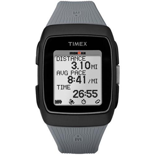 Timex Ironman GPS Black/Grey: Timex GPS Watches