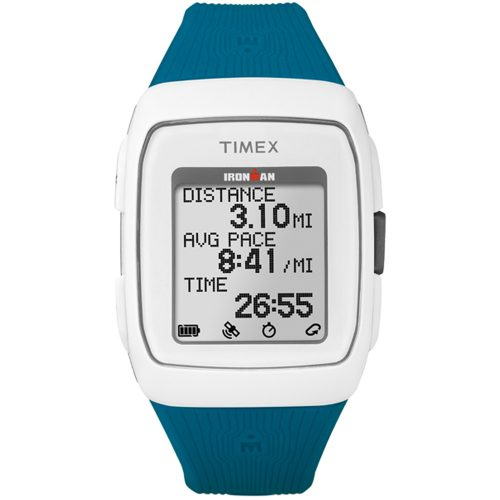 Timex Ironman GPS Teal/White: Timex GPS Watches