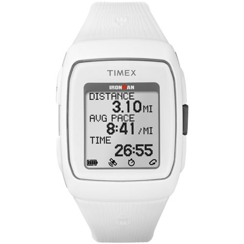 Timex Ironman GPS White/White: Timex GPS Watches