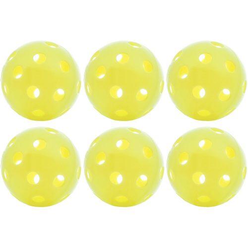 Top Outdoor Pickleballs 6 Pack: PickleballCentral Pickleball Balls