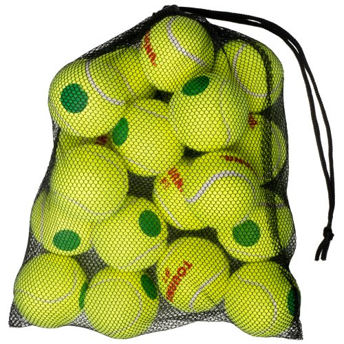 Tourna Green Dot 18 Pack: Tourna Tennis Balls