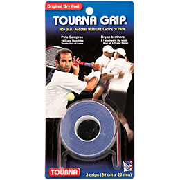 Tourna Grip Overgrips 3 Pack: Tourna Tennis Overgrips