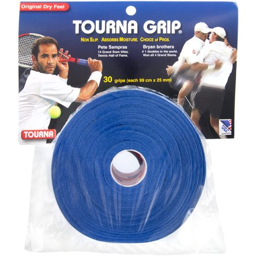 Tourna Grip Overgrips 30 Pack: Tourna Tennis Overgrips