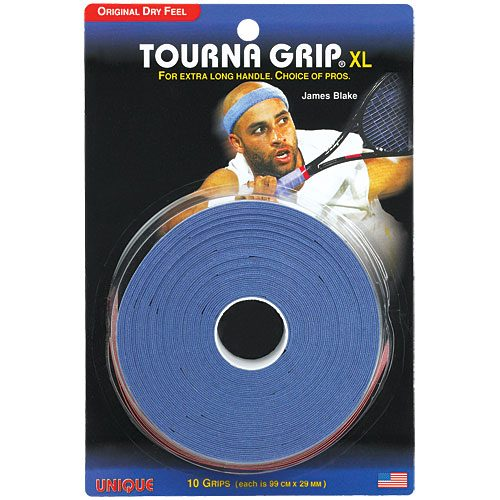 Tourna Grip XL Overgrips 10 Pack: Tourna Tennis Overgrips