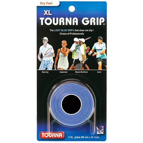 Tourna Grip XL Overgrips 3 Pack: Tourna Tennis Overgrips