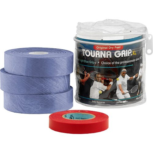 Tourna Grip XL Overgrips 30 Pack: Tourna Tennis Overgrips
