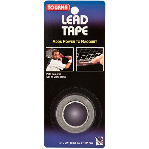 "Tourna Lead Tape 1/4"" x 72"": Tourna Lead Tape"