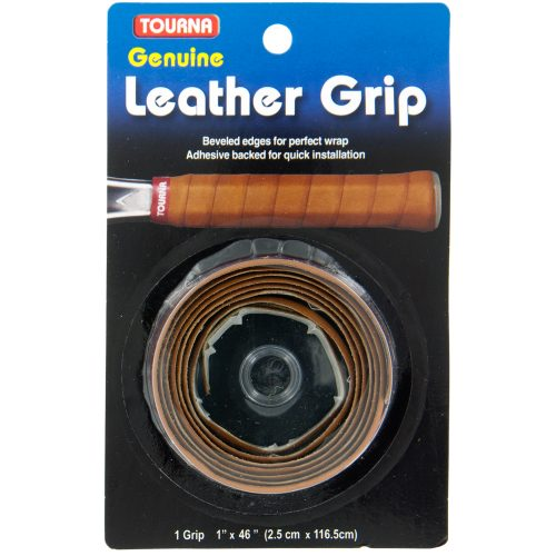 Tourna Leather Grip: Tourna Tennis Replacet Grips
