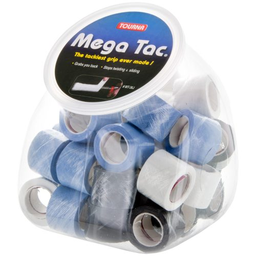 Tourna Mega Tac Overgrips Jar of 36: Tourna Tennis Overgrips
