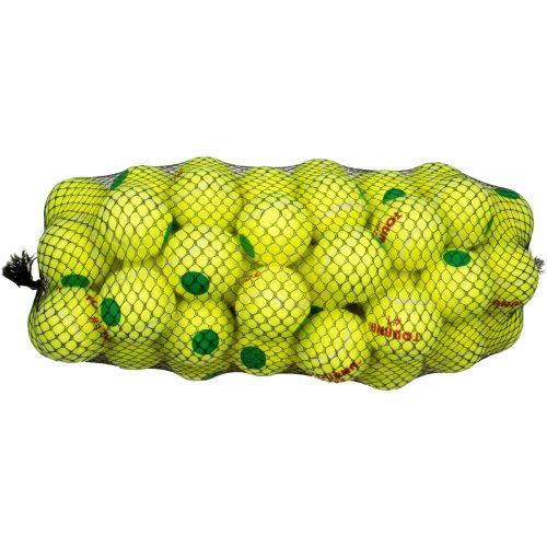 Tourna Pressurized Green Dot 60 Pack Balls: Tourna Tennis Balls