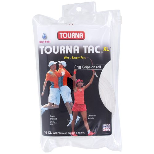 Tourna TAC Overgrips 10 Pack: Tourna Tennis Overgrips