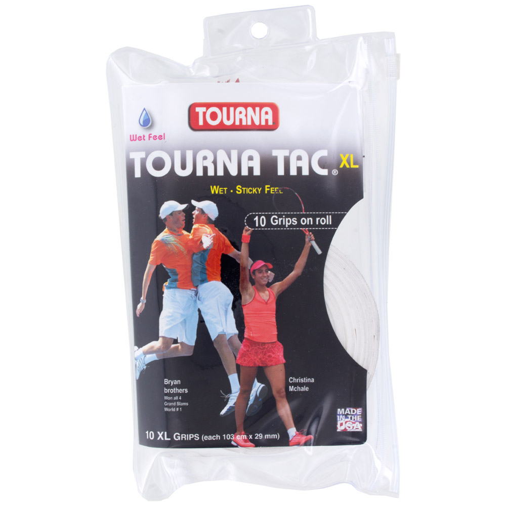 Tourna TAC Overgrips 10 Pack: Tourna Tennis Overgrips