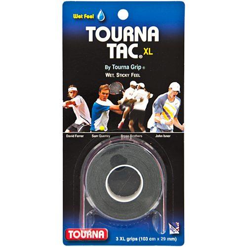 Tourna TAC Overgrips 3 Pack: Tourna Tennis Overgrips