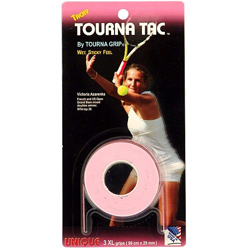 Tourna TAC Overgrips 3 Pack: Tourna Tennis Overgrips