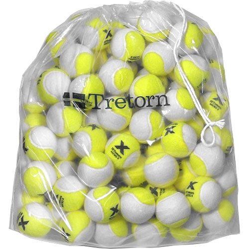 Tretorn Micro-X Pressureless Bag of 72 Yellow and White Tennis Balls: Tretorn Tennis Balls