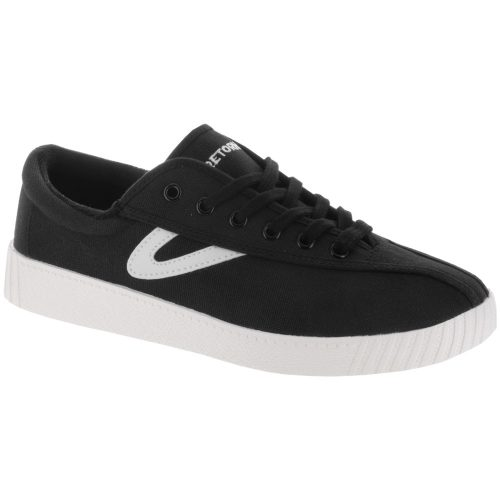 Tretorn Nylite Canvas: Tretorn Women's Tennis Shoes Black