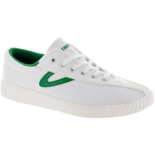Tretorn Nylite Canvas: Tretorn Women's Tennis Shoes White/Green