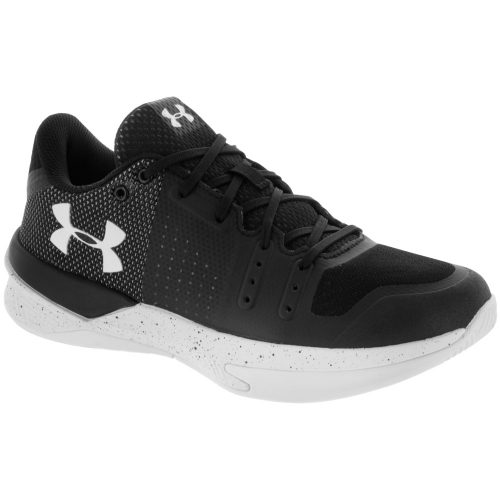 Under Armour Block City: Under Armour Women's Indoor, Squash, Racquetball Shoes Black/White