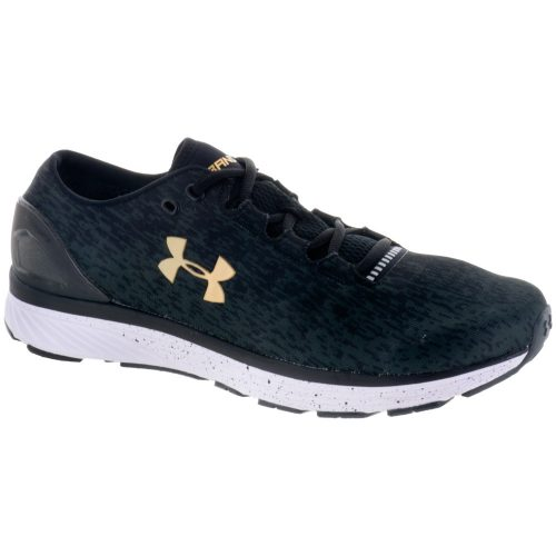 Under Armour Charged Bandit 3 Ombre: Under Armour Men's Running Shoes Black/Anthracite/Yellow