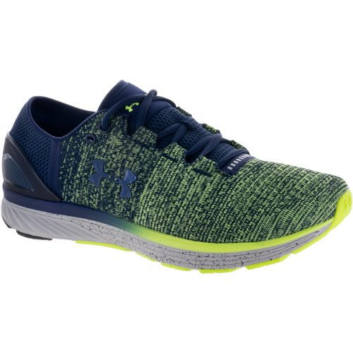 Under Armour Charged Bandit 3: Under Armour Men's Running Shoes Quirky Lime/Midnight Navy