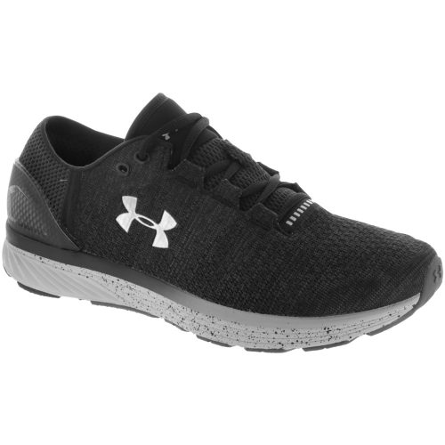 Under Armour Charged Bandit 3: Under Armour Men's Running Shoes Stealth Gray/Black/Silver