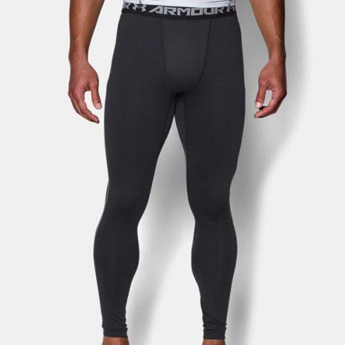 Under Armour ColdGear Armour Compression Leggings: Under Armour Men's Athletic Apparel