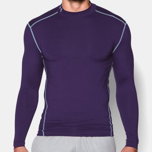 Under Armour ColdGear Armour Compression Mock: Under Armour Men's Athletic Apparel