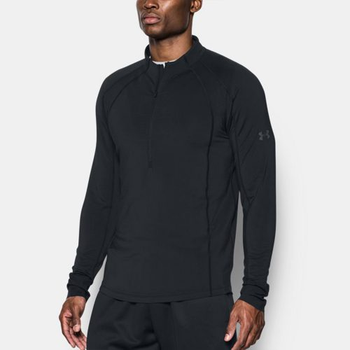 Under Armour ColdGear Reactor Run 1/2 Zip: Under Armour Men's Running Apparel