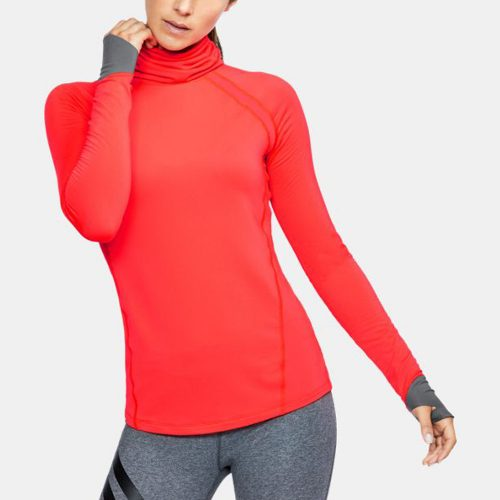 Under Armour ColdGear Reactor Run Funnel Neck: Under Armour Women's Running Apparel