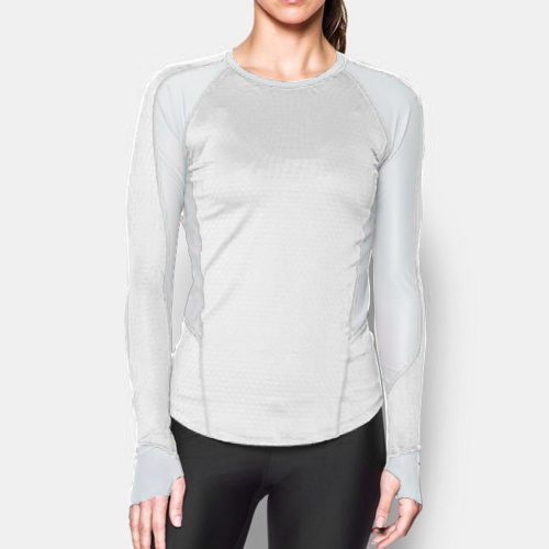 Under Armour ColdGear Reactor Run Long Sleeve Shirt: Under Armour Women's Running Apparel
