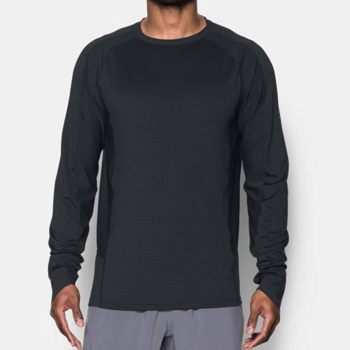 Under Armour ColdGear Reactor Run Long Sleeve Top: Under Armour Men's Running Apparel