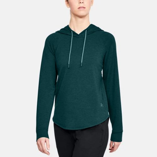Under Armour Featherweight Fleece Oversize Hoodie: Under Armour Women's Running Apparel
