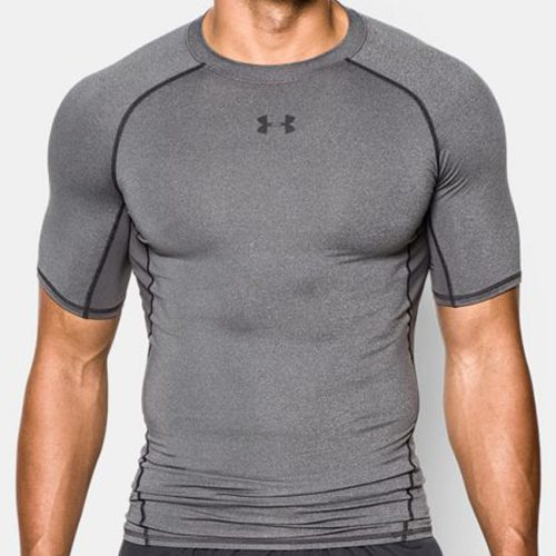 Under Armour HeatGear Compression Shirt: Under Armour Men's Athletic Apparel