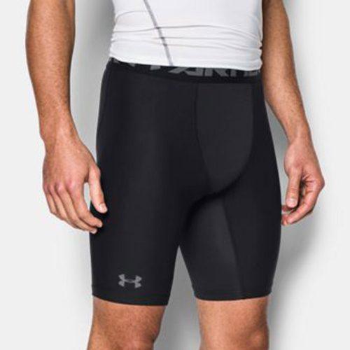 Under Armour HeatGear Compression Short 2.0 Long: Under Armour Men's Athletic Apparel
