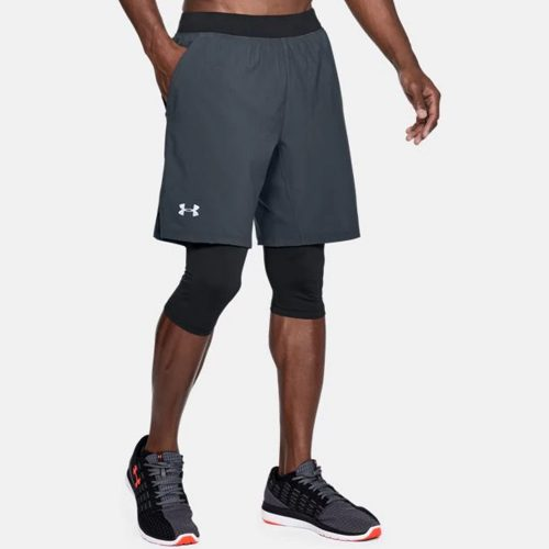Under Armour Launch SW Long Shorts: Under Armour Men's Running Apparel