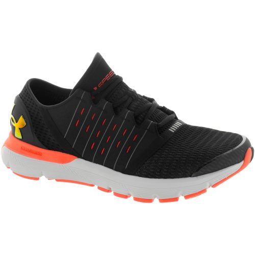 Under Armour SpeedForm Europa: Under Armour Men's Running Shoes Black/Glacier Gray
