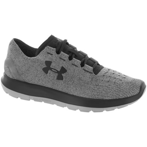 Under Armour SpeedForm Slingride: Under Armour Men's Running Shoes Glacier Gray/Stealth Gray