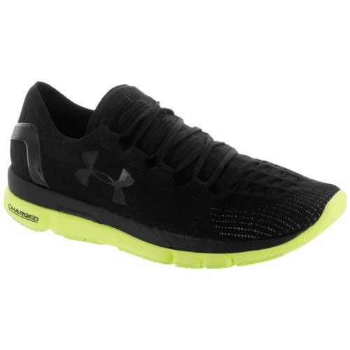 Under Armour Speedform Slingshot: Under Armour Men's Running Shoes Black/Quirky Lime