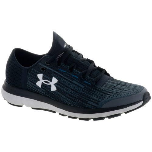 Under Armour Speedform Velociti GR: Under Armour Women's Running Shoes Rhino Gray/Black/Glacier