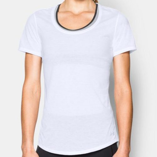 Under Armour Streaker Short Sleeve Tee: Under Armour Women's Running Apparel