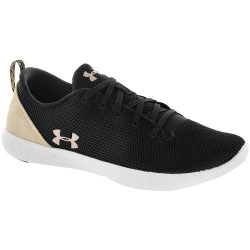 Under Armour Street Precision Low Metallic: Under Armour Women's Training Shoes Black