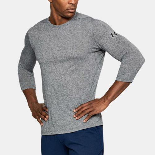 Under Armour Threadborne 3/4 Utility Shirt: Under Armour Men's Athletic Apparel