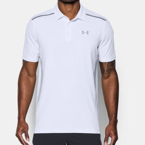 Under Armour Threadborne Center Court Polo: Under Armour Men's Tennis Apparel
