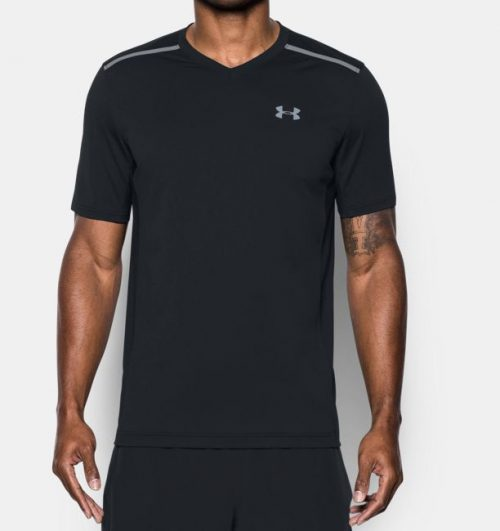 Under Armour Threadborne Center Court Short Sleeve Top: Under Armour Men's Tennis Apparel