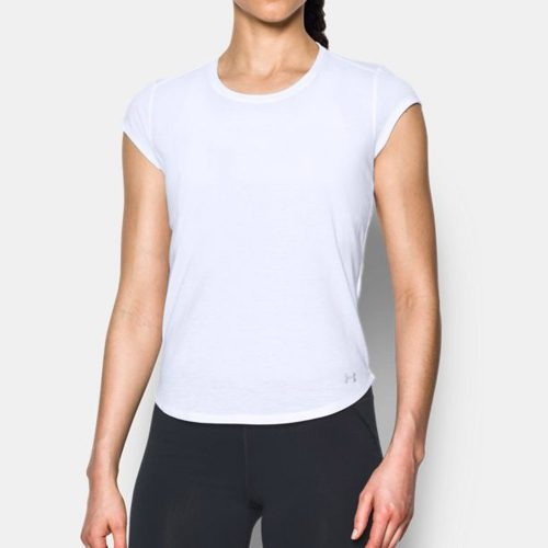 Under Armour Threadborne Mesh Short Sleeve Top: Under Armour Women's Running Apparel